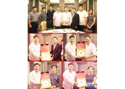 中国广西大学代表团莅访 东盟物流与采购联合总会