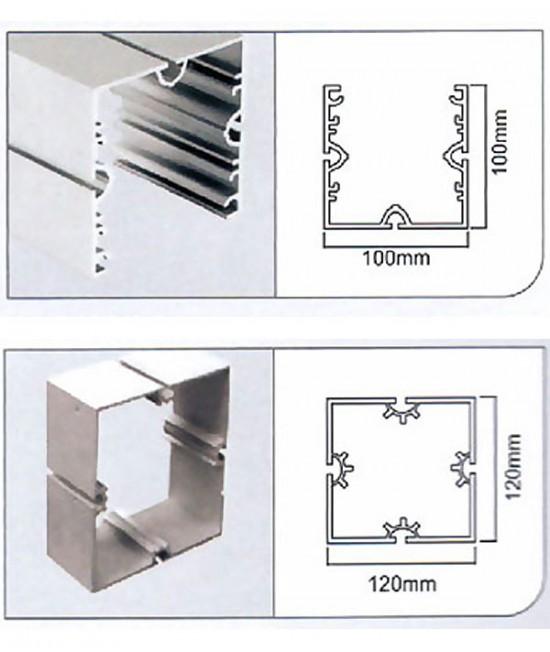 展览铝型材