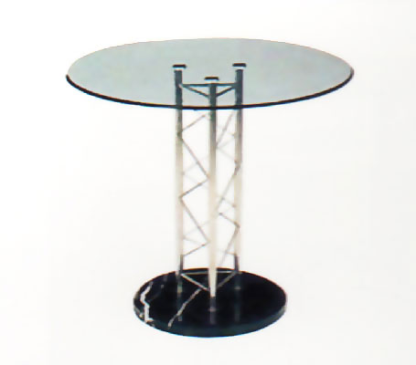 Glass Negotiate Table