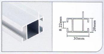 3cm 2 Grooves Link Column